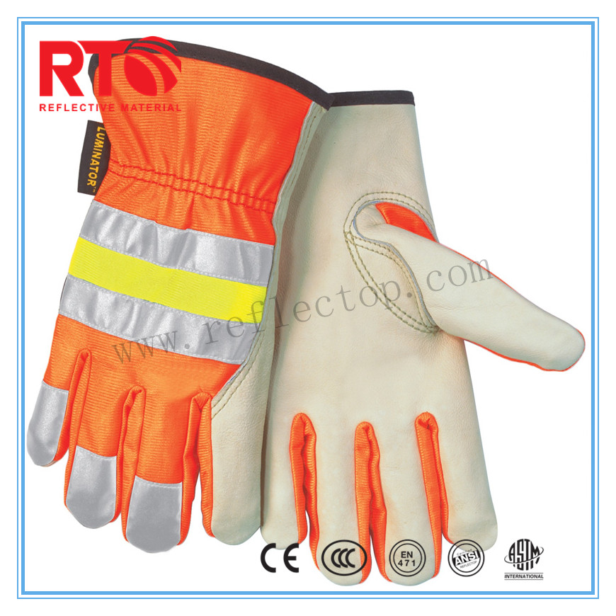 Sewing Type T/c Reflective Fabric For gloves