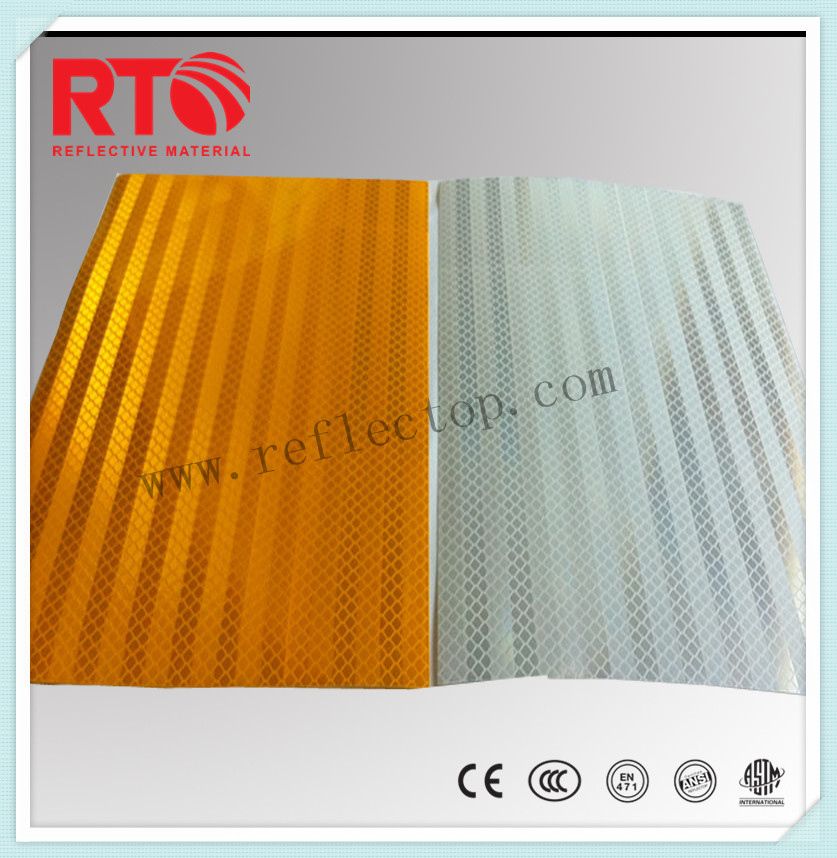 High visibility reflective film