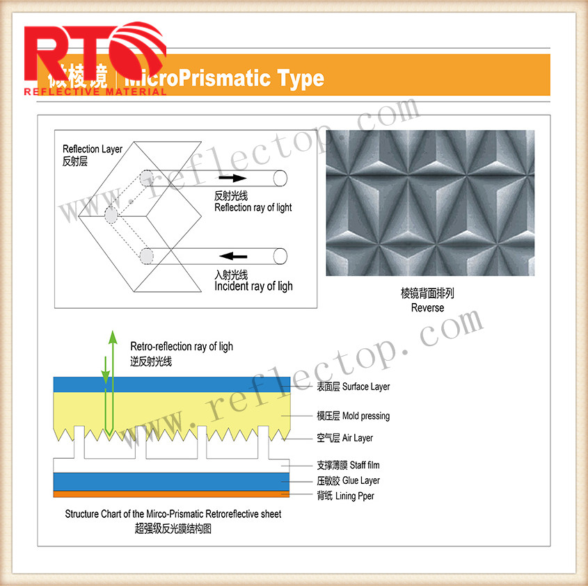 reflective self adhesive tape for vehicle