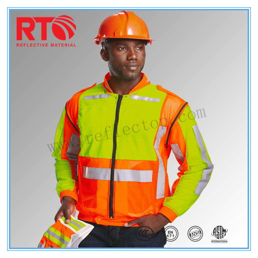 High Visibility Reflective Fabric For garment