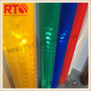 reflective vinyl for traffic cones sleeve